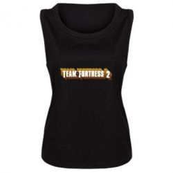 Женская майка Team Fortress 2 logo