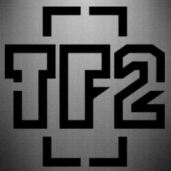 Наклейка Team Fortress 2 logo