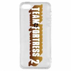 Чехол для iPhone5/5S/SE Team Fortress 2 logo