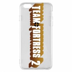 Чехол для iPhone 6 Plus/6S Plus Team Fortress 2 logo