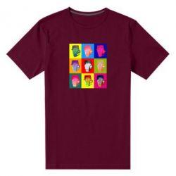 Чоловіча стрейчева футболка Team Fortress pop art