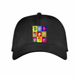 Дитяча кепка Team Fortress pop art