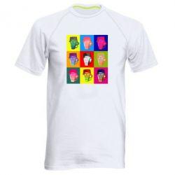 Чоловіча спортивна футболка Team Fortress pop art