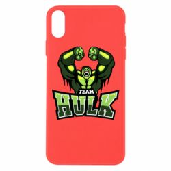 Чехол для iPhone Xs Max Team hulk