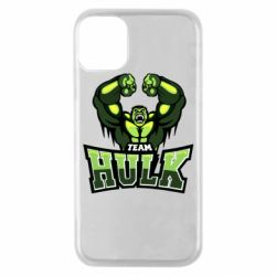 Чехол для iPhone 11 Pro Team hulk