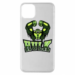 Чехол для iPhone 11 Pro Max Team hulk