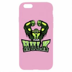 Чехол для iPhone 6/6S Team hulk