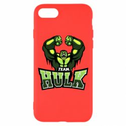 Чехол для iPhone 7 Team hulk