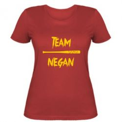 Женская футболка Team negan 1
