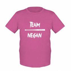 Детская футболка Team negan 1
