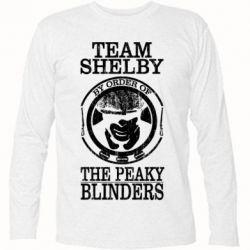 Футболка з довгим рукавом Team Shelby the Peaky Blinders
