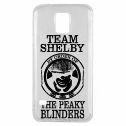 Чохол для Samsung S5 Team Shelby the Peaky Blinders