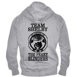 Чоловіча толстовка на блискавці Team Shelby the Peaky Blinders