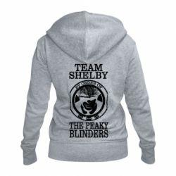 Жіноча толстовка на блискавці Team Shelby the Peaky Blinders