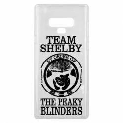 Чохол для Samsung Note 9 Team Shelby the Peaky Blinders