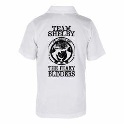 Дитяча футболка поло Team Shelby the Peaky Blinders