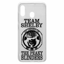 Чохол для Samsung A20 Team Shelby the Peaky Blinders