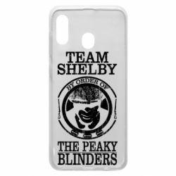 Чохол для Samsung A30 Team Shelby the Peaky Blinders
