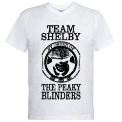 Чоловіча футболка з V-подібним вирізом Team Shelby the Peaky Blinders