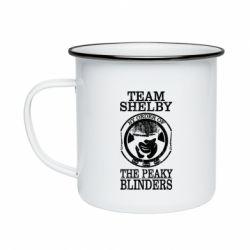 Кружка емальована Team Shelby the Peaky Blinders