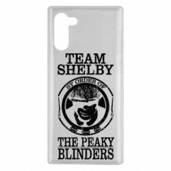 Чохол для Samsung Note 10 Team Shelby the Peaky Blinders