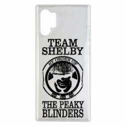 Чохол для Samsung Note 10 Plus Team Shelby the Peaky Blinders