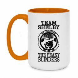 Кружка двоколірна 420ml Team Shelby the Peaky Blinders