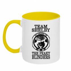 Кружка двоколірна 320ml Team Shelby the Peaky Blinders