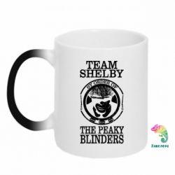 Кружка-хамелеон Team Shelby the Peaky Blinders