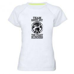 Жіноча спортивна футболка Team Shelby the Peaky Blinders