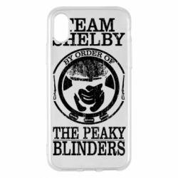 Чохол для iPhone X/Xs Team Shelby the Peaky Blinders