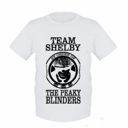 Дитяча футболка Team Shelby the Peaky Blinders