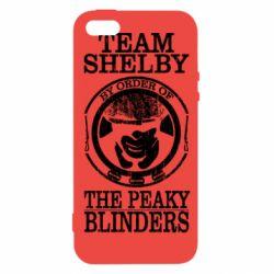 Чохол для iphone 5/5S/SE Team Shelby the Peaky Blinders