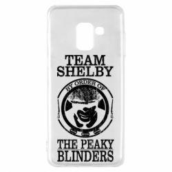 Чохол для Samsung A8 2018 Team Shelby the Peaky Blinders