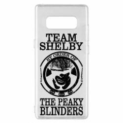 Чохол для Samsung Note 8 Team Shelby the Peaky Blinders