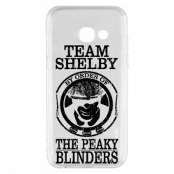 Чохол для Samsung A3 2017 Team Shelby the Peaky Blinders