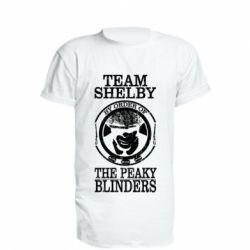 Подовжена футболка Team Shelby the Peaky Blinders