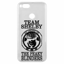 Чохол для Xiaomi Mi A1 Team Shelby the Peaky Blinders