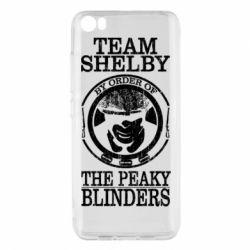 Чохол для Xiaomi Mi5/Mi5 Pro Team Shelby the Peaky Blinders