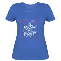 Женская футболка Телец - FatLine