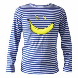 Тельняшка с длинным рукавом Banana smile