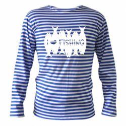 Тільник з довгим рукавом I Love Fishing