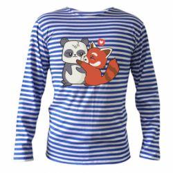 Тільник з довгим рукавом Panda and fire panda