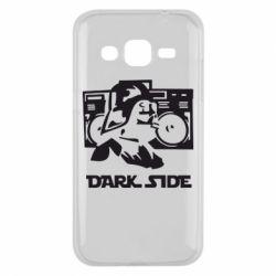 Чехол для Samsung J2 2015 Темная сторона Star Wars