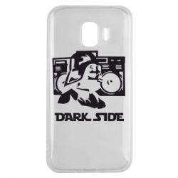 Чехол для Samsung J2 2018 Темная сторона Star Wars
