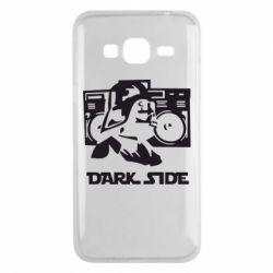Чехол для Samsung J3 2016 Темная сторона Star Wars