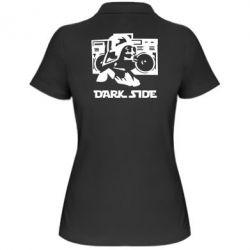 Женская футболка поло Темная сторона Star Wars - FatLine
