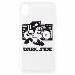 Чехол для iPhone XR Темная сторона Star Wars