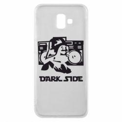 Чехол для Samsung J6 Plus 2018 Темная сторона Star Wars