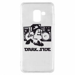 Чехол для Samsung A8 2018 Темная сторона Star Wars